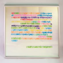 4. Richard Prince joke painting code # I(1)