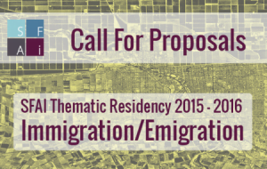 Santa Fe Arts Institute – Thematic Residency – Immigration/Migration