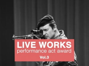 LIVE WORKS Performance Act Award_Vol.3 a project by Centrale Fies in collaboration with Viafarini
