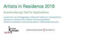 KulturKontakt – Call for Applications for the Artists in Residence Programme 2016