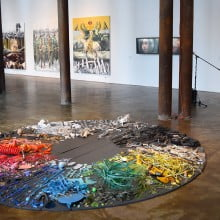 """Installation view of """"Story of a Story"""""""