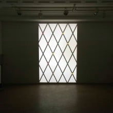 The Light from the window, 2013, slide projector, size variable