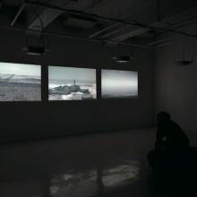Form of Sea, 2012, video installation