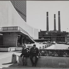 K-G Roos: UN building in New York, 1968, Gelatine silver print. The Finnish Museum of Photography.