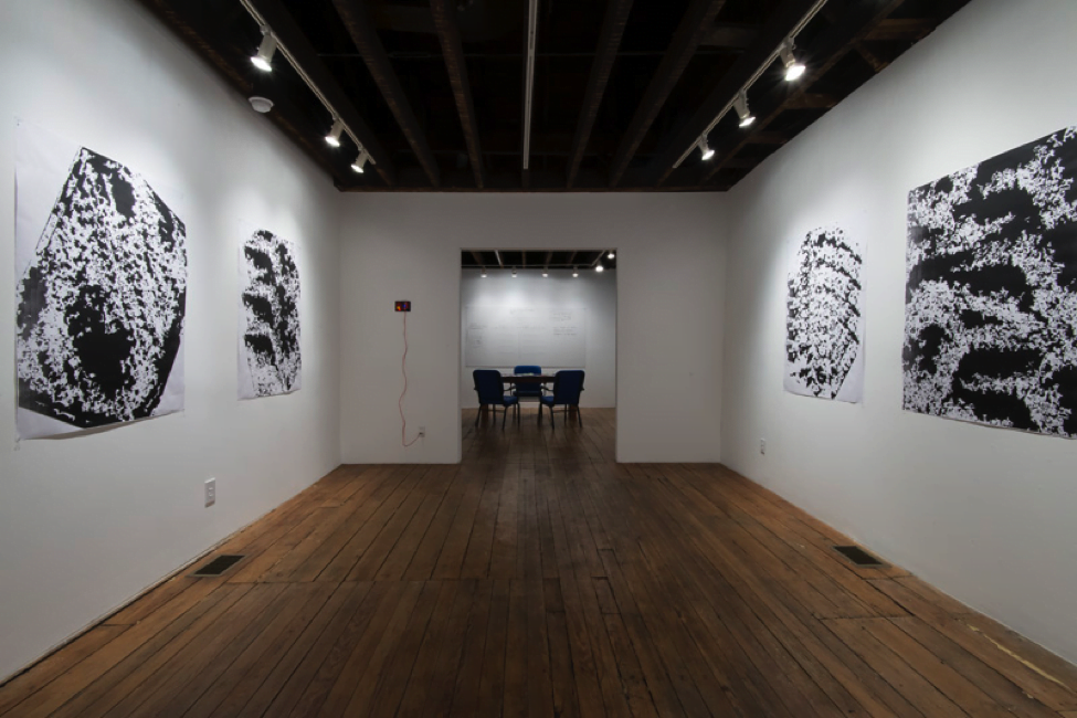 Man Bartlett, 'Hey, Sugar' installation view, 2015, Zephyr Gallery.  Photo by Kenneth Hayden