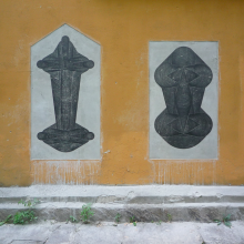 Marko Markovic, Announcement of Two Sculptures, 2009