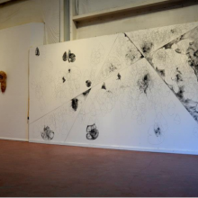 """Morphologies"" at the Radical Abacus in Santa Fe, NM in July 2015"