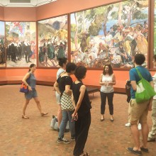 RU Field Trip to The Hispanic Society of America with RU Artists and RU Staff on July 7, 2016.