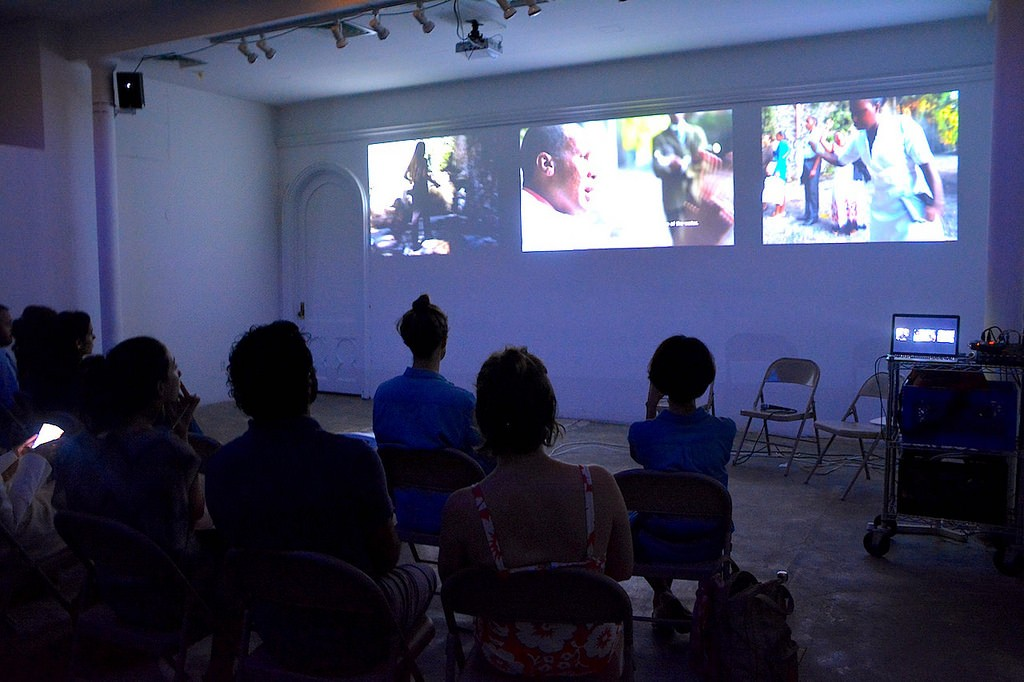 "Virginia de Medeiros, ""Sérgio Simone,"" (2007-16). Screening at Residency Unlimited, Brooklyn, 2016/Courtesy: Residency Unlimited, 2016."